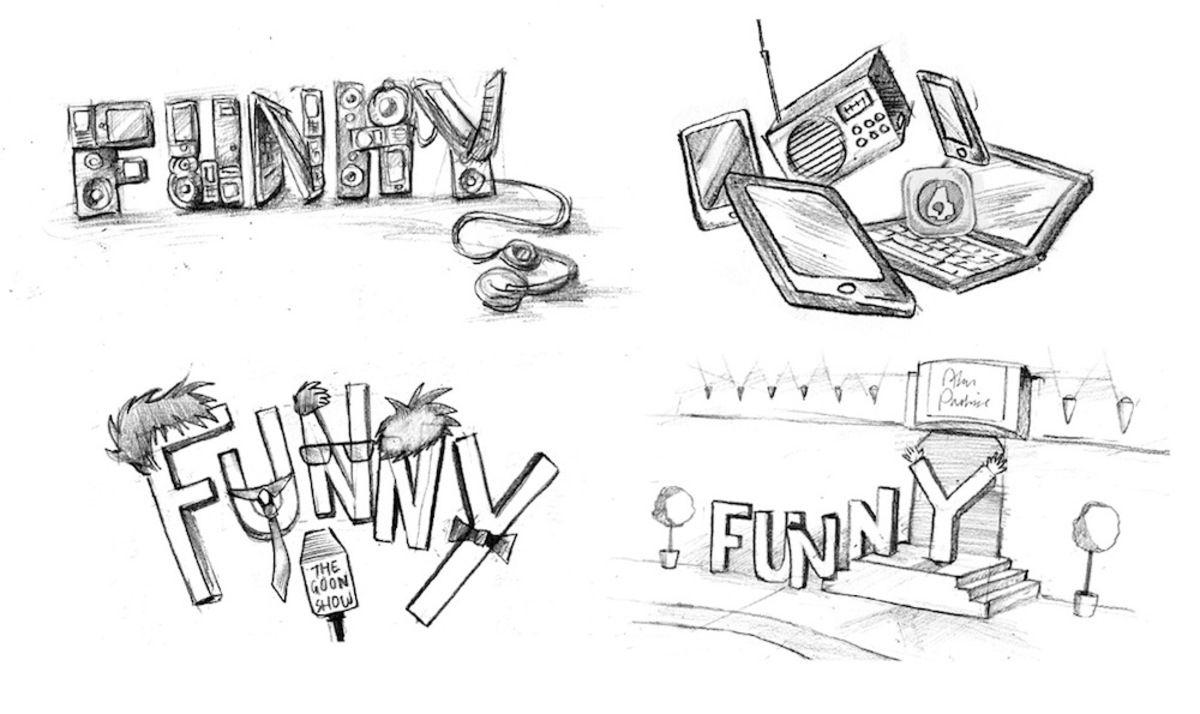 BBC RADIO 4 EXTRA-'FUNNY'_FunnySketches