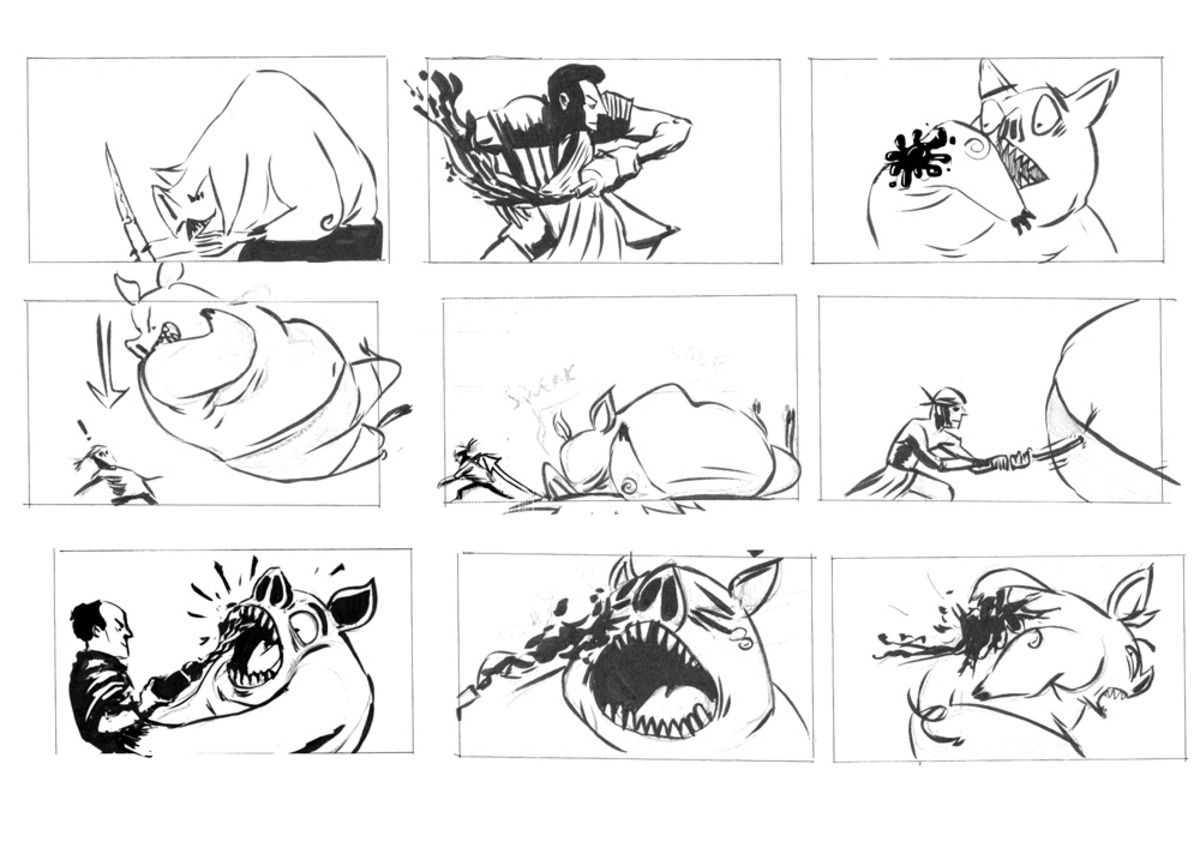 OOLONG TEA-'FIGHT THE FAT!'_4-storyboard01
