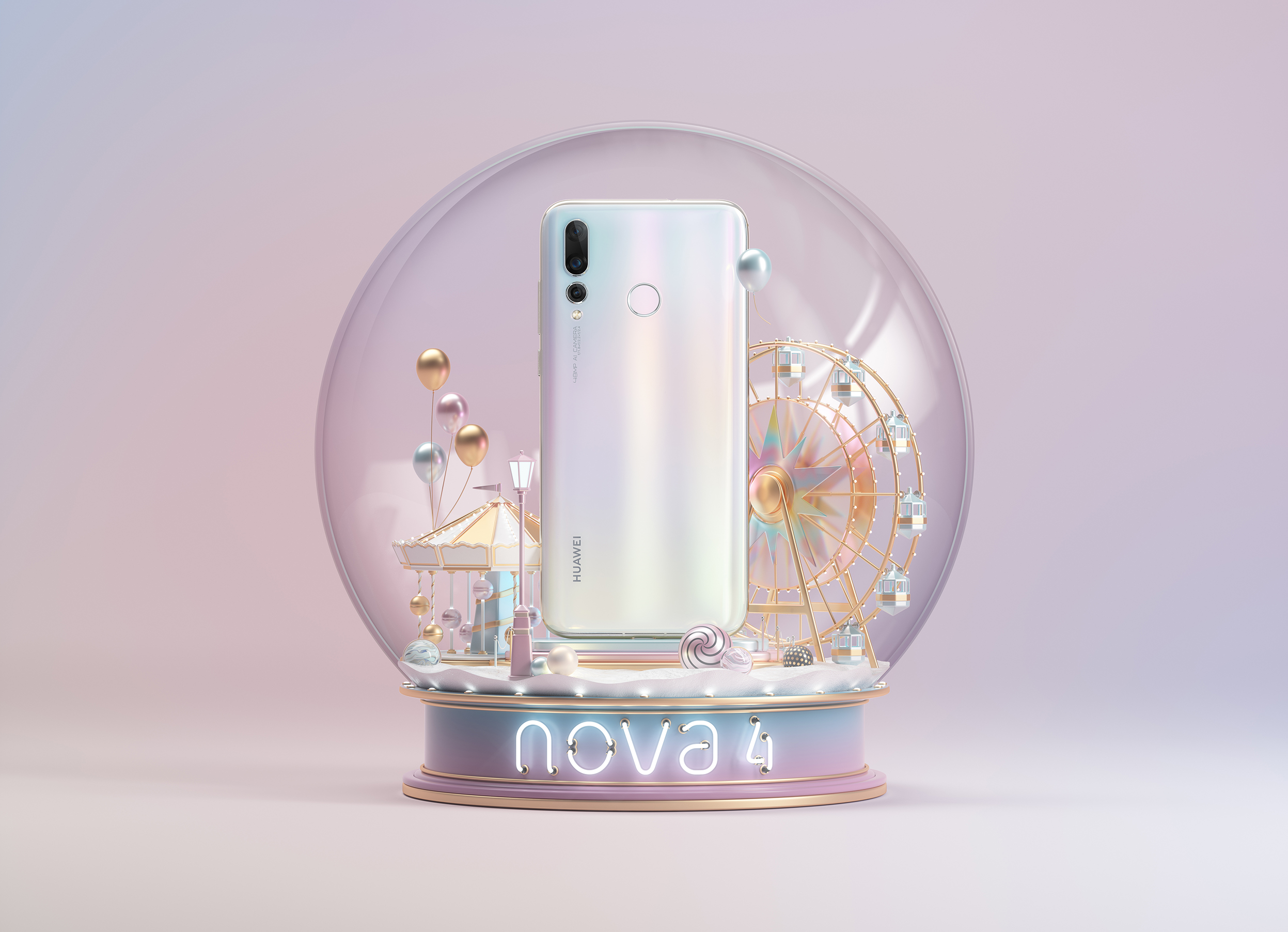 Huawei Venice_Crystall Ball_White