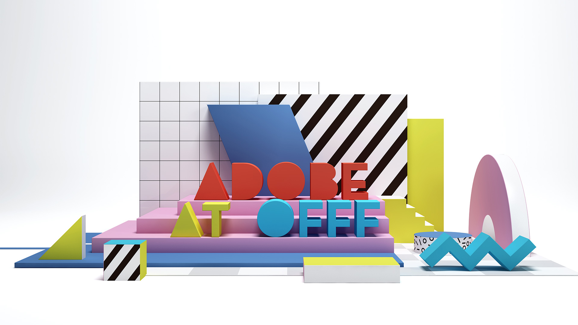 ADOBE AT OFFF BRANDING- VISUAL ANIMATION